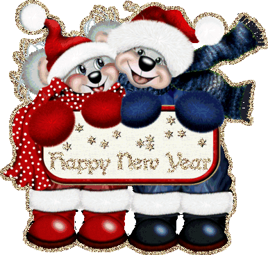 Happy New Year Greetings Animated