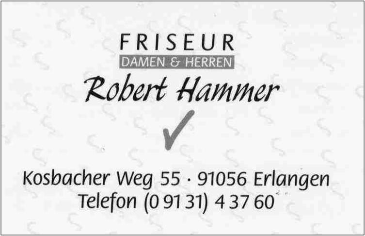 13 Friseur Hammer